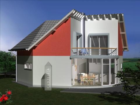 Cad Eins Moderne Architektenhauser